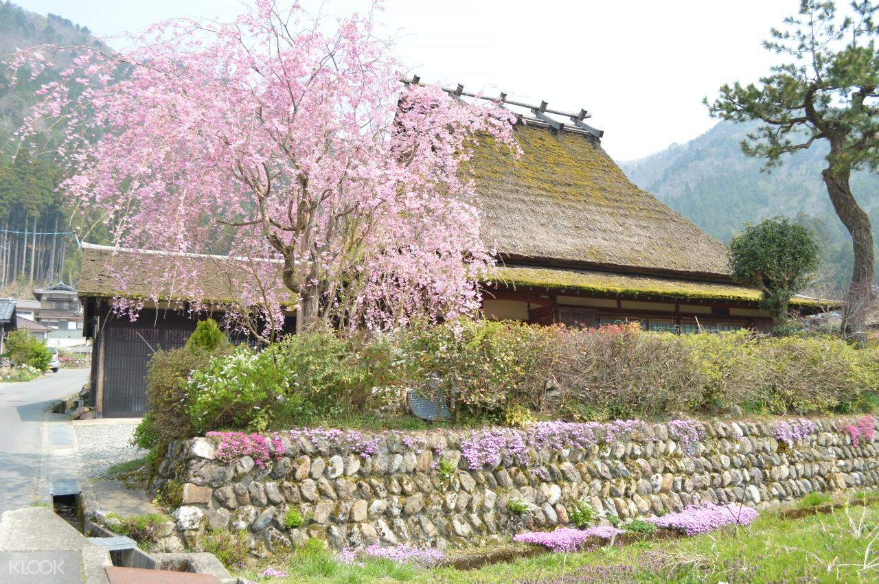 traditional japanese house in miyama village