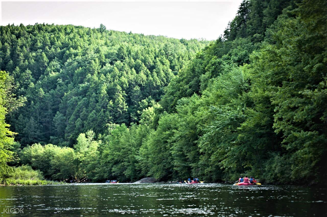 river rafting adventure in new york