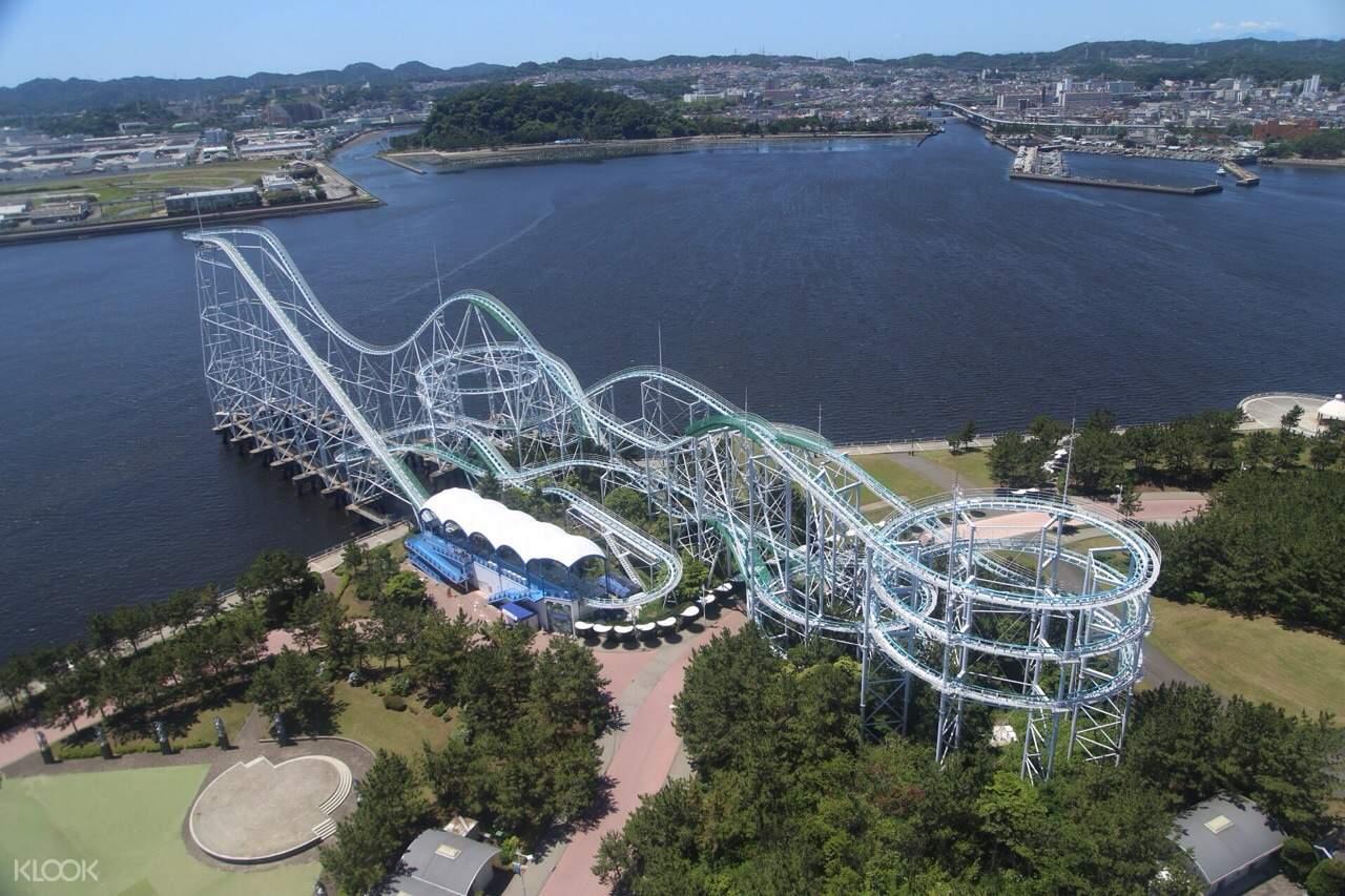Yokohama Hakkeijima Sea Paradise surf coaster