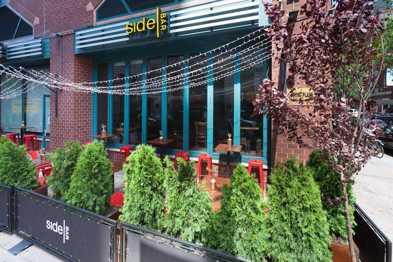 exterior of SideBAR in Union Square