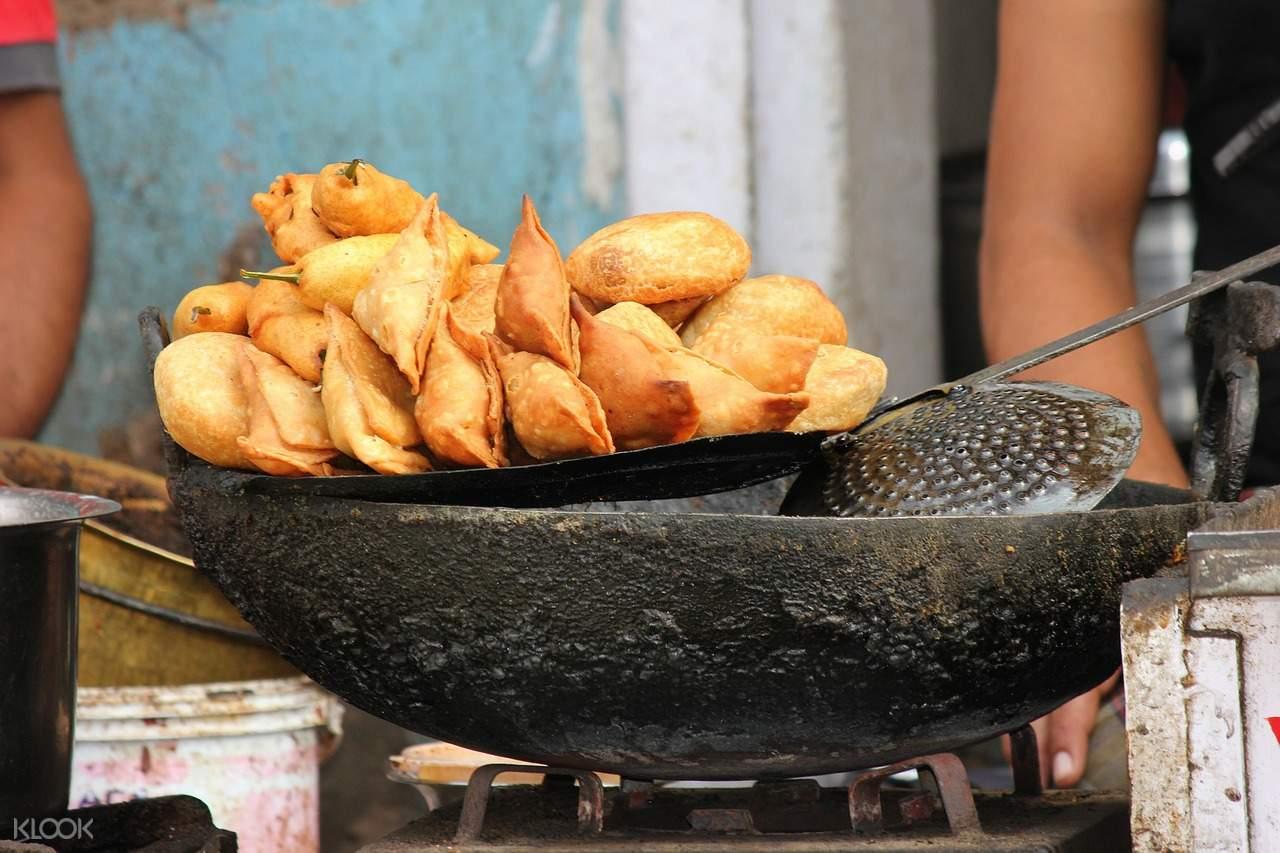 makanan jalanan delhi