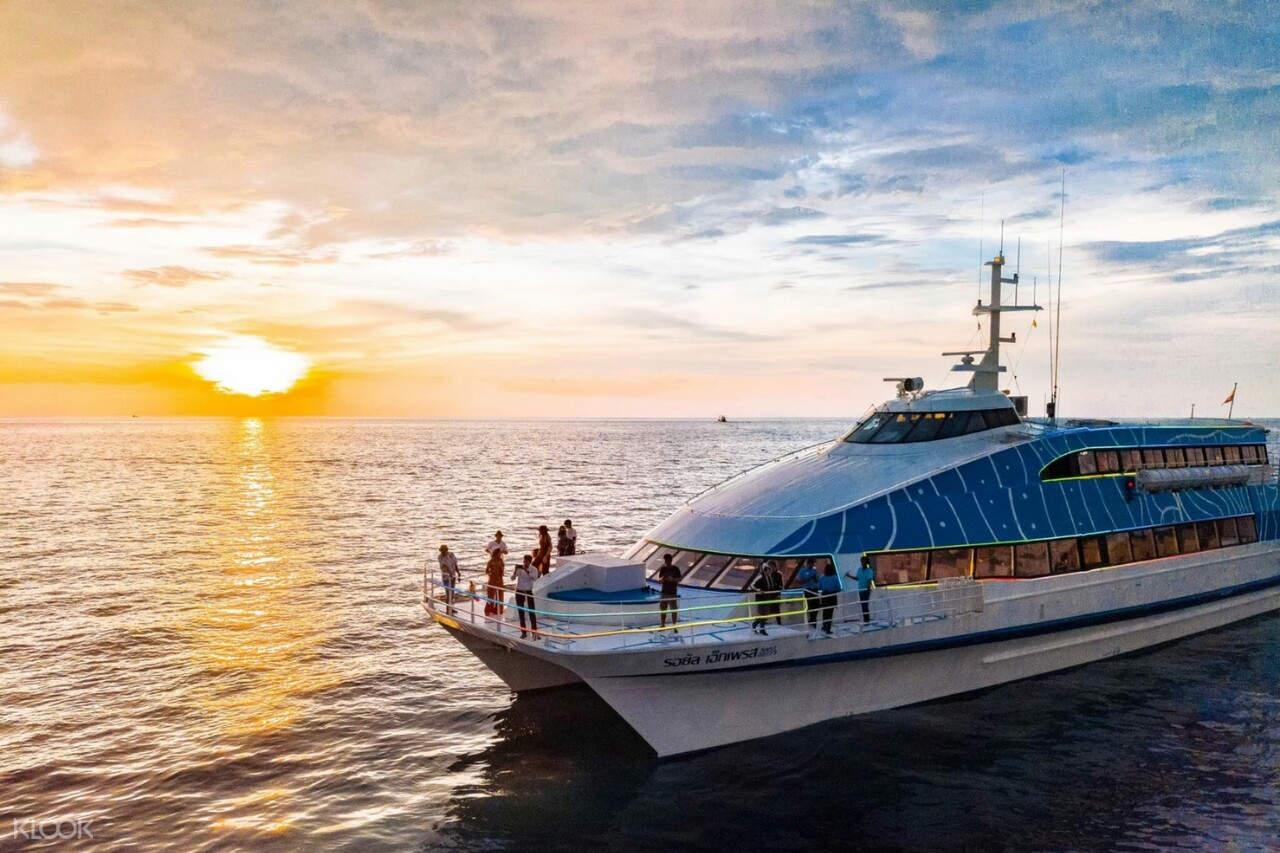 sunset cruise in phuket