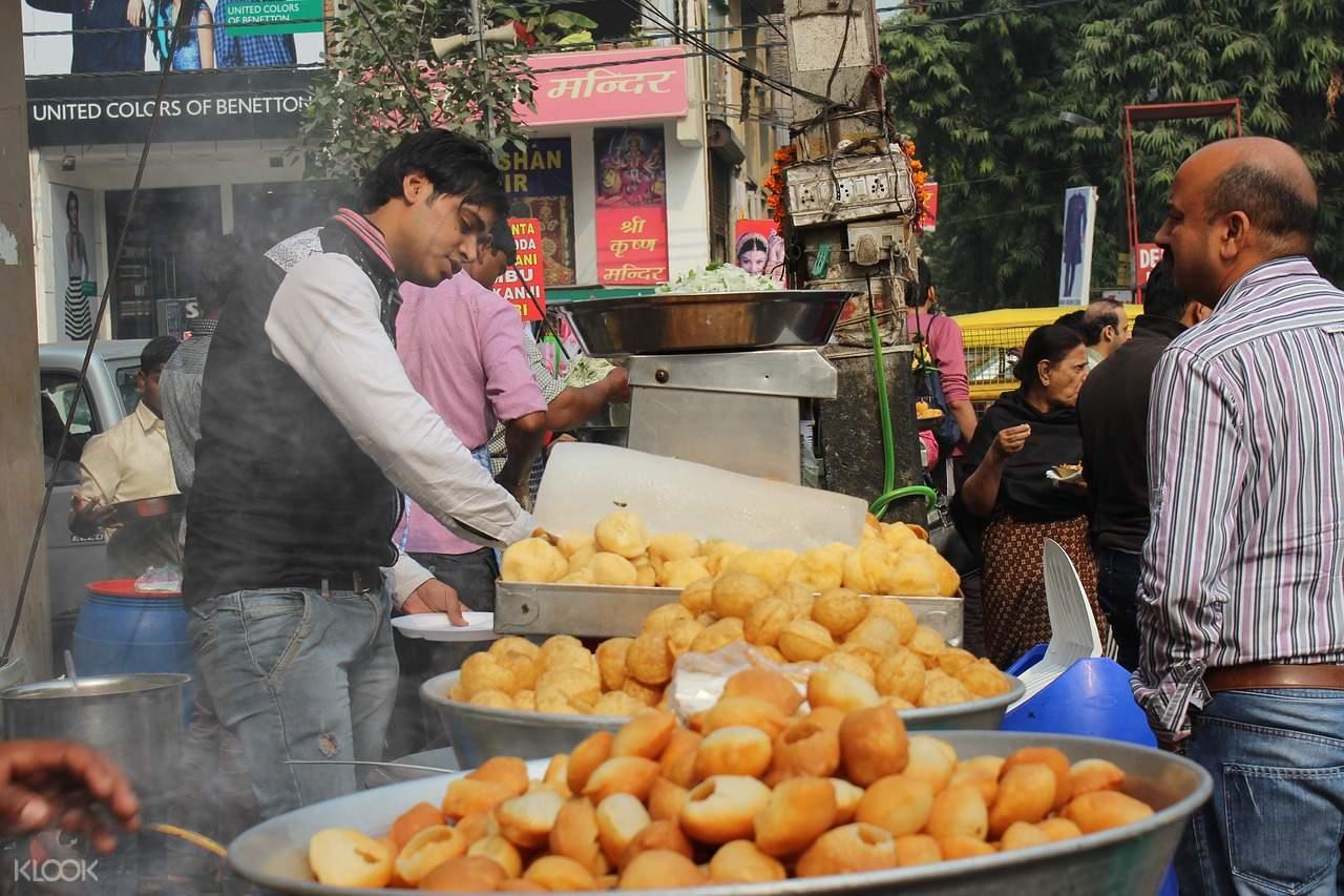 makanan jalanan india