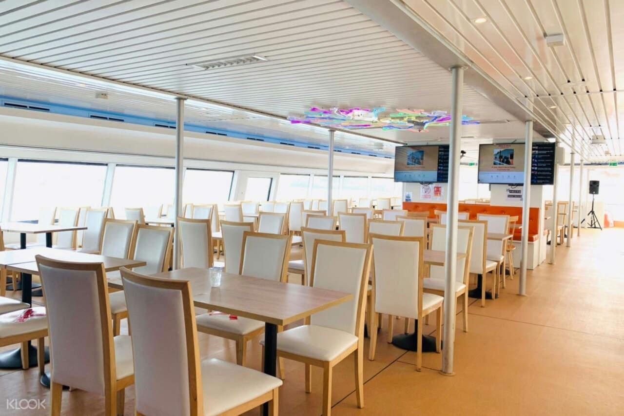 Interior of Royal Phuket Cruise