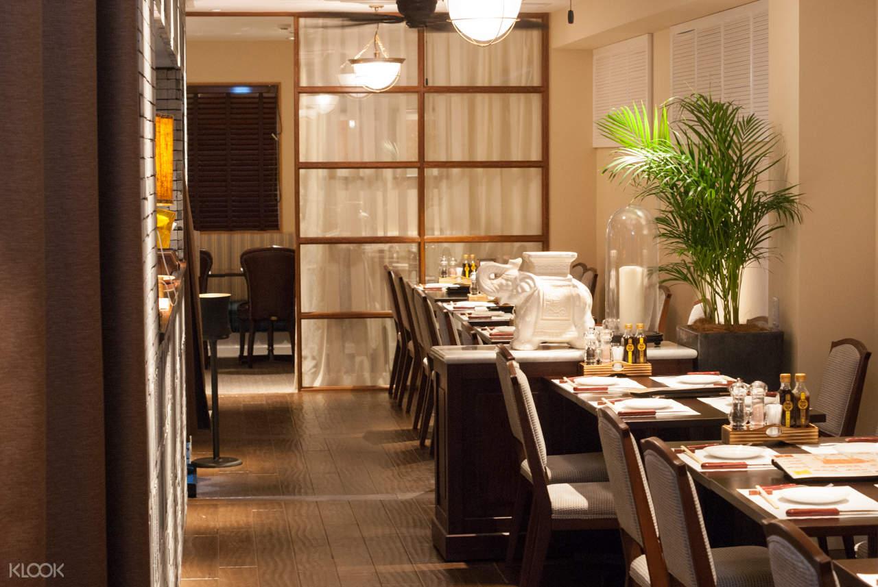 steak house pound shinsaibashi interior