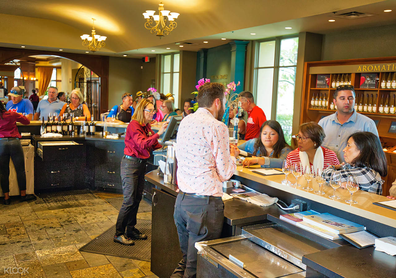 Experience a wine tasting at local wineries that features the region's distinctive wines