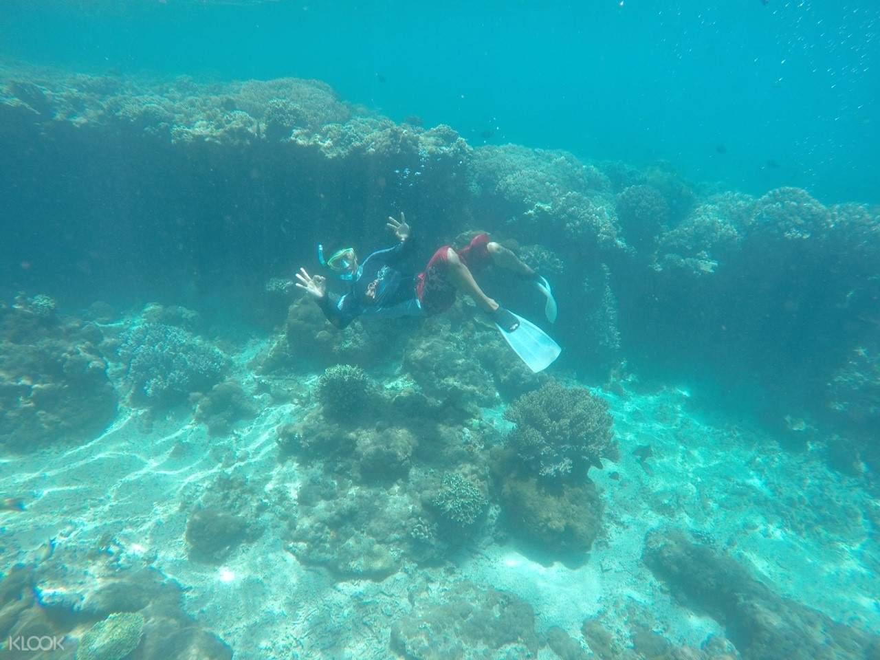 峇里島 Labuan Amuk 海灘浮潛體驗