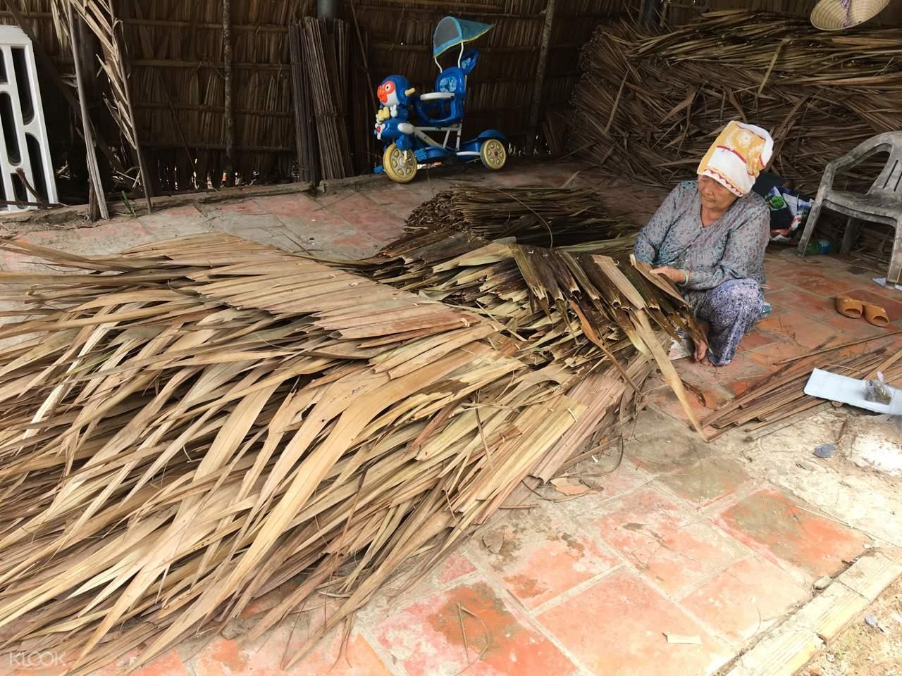 Mekong Delta handicraft village