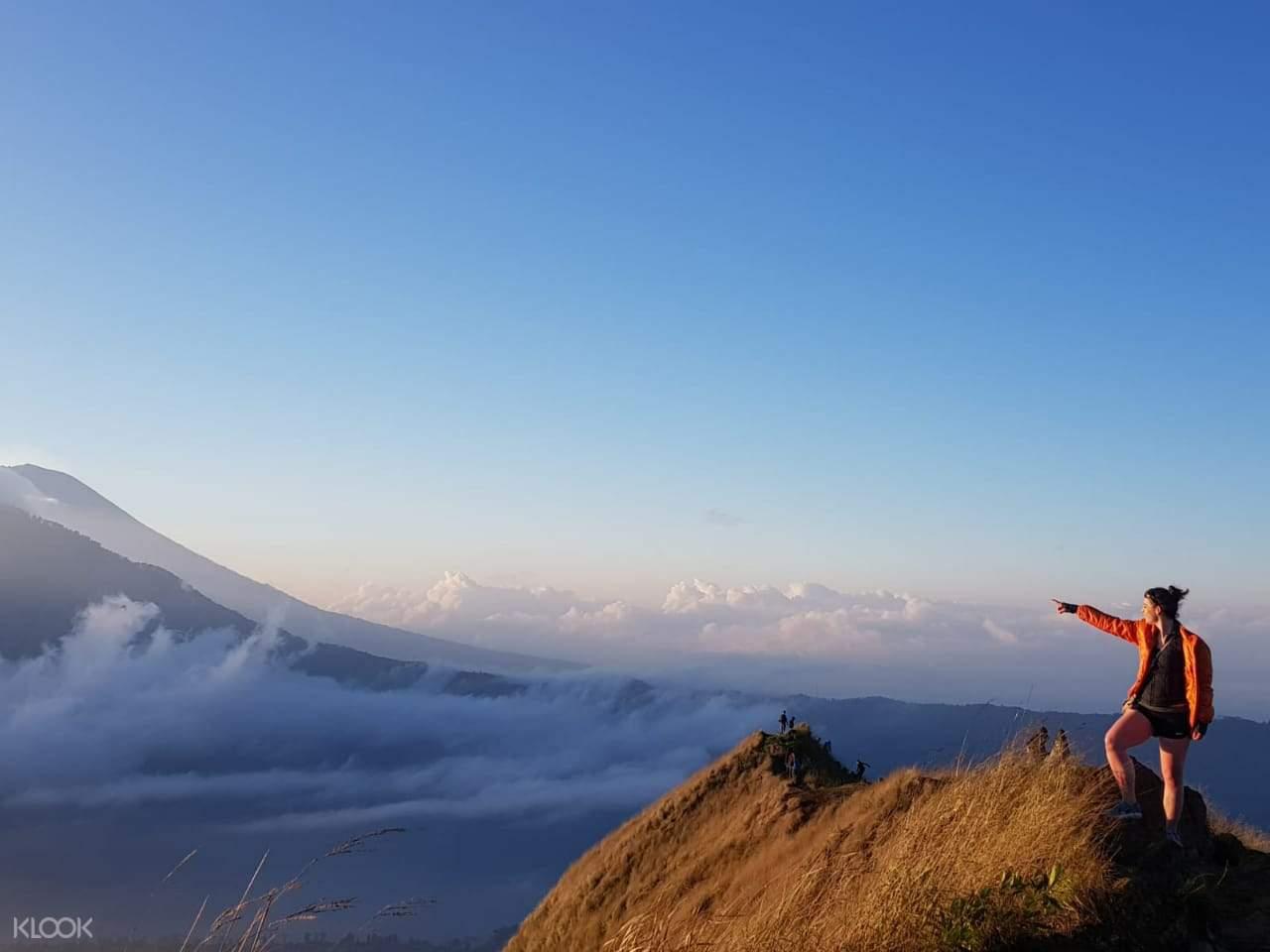 峇里島巴杜爾火山日落徒步之旅