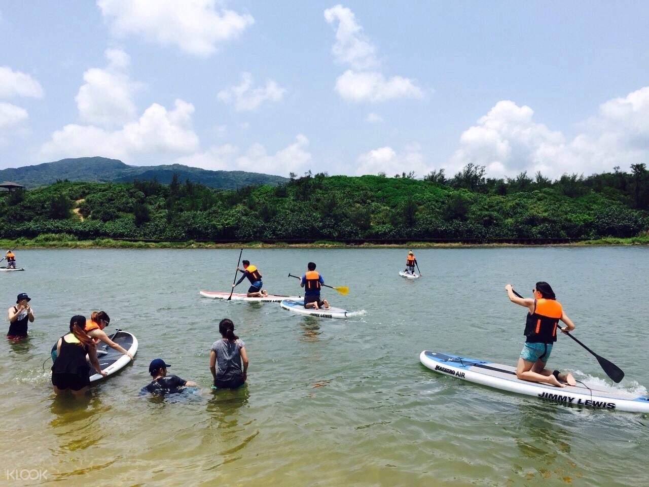 台北福隆双溪河SUP体验