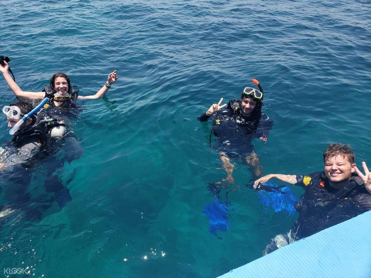 Have fun diving at the beautiful ocean of Menjangan Island!