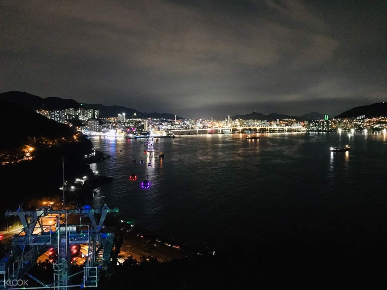 a view of busan from a high vantage point