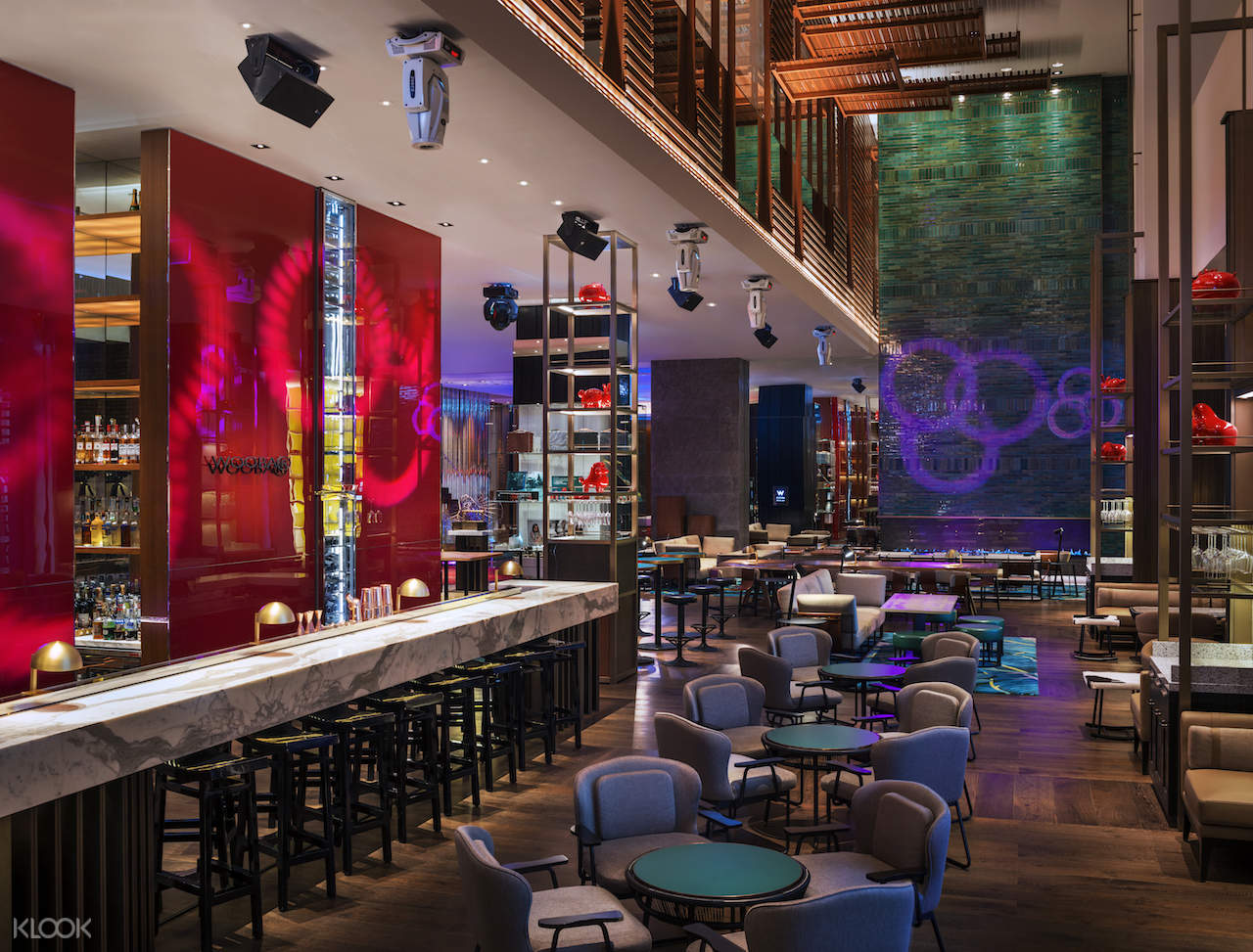 interior of WOOBAR at W Taipei