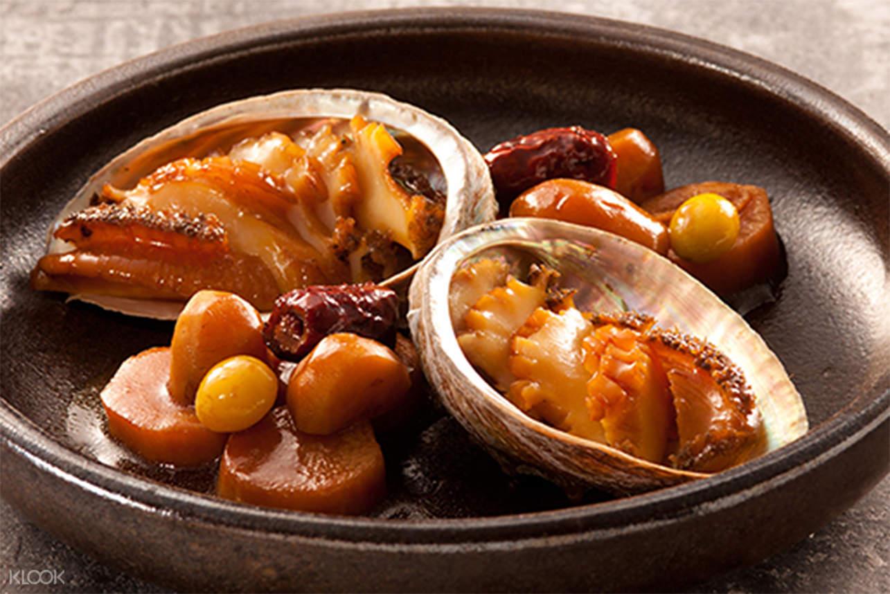 Braised Abalones in Soy Sauce jihwaja