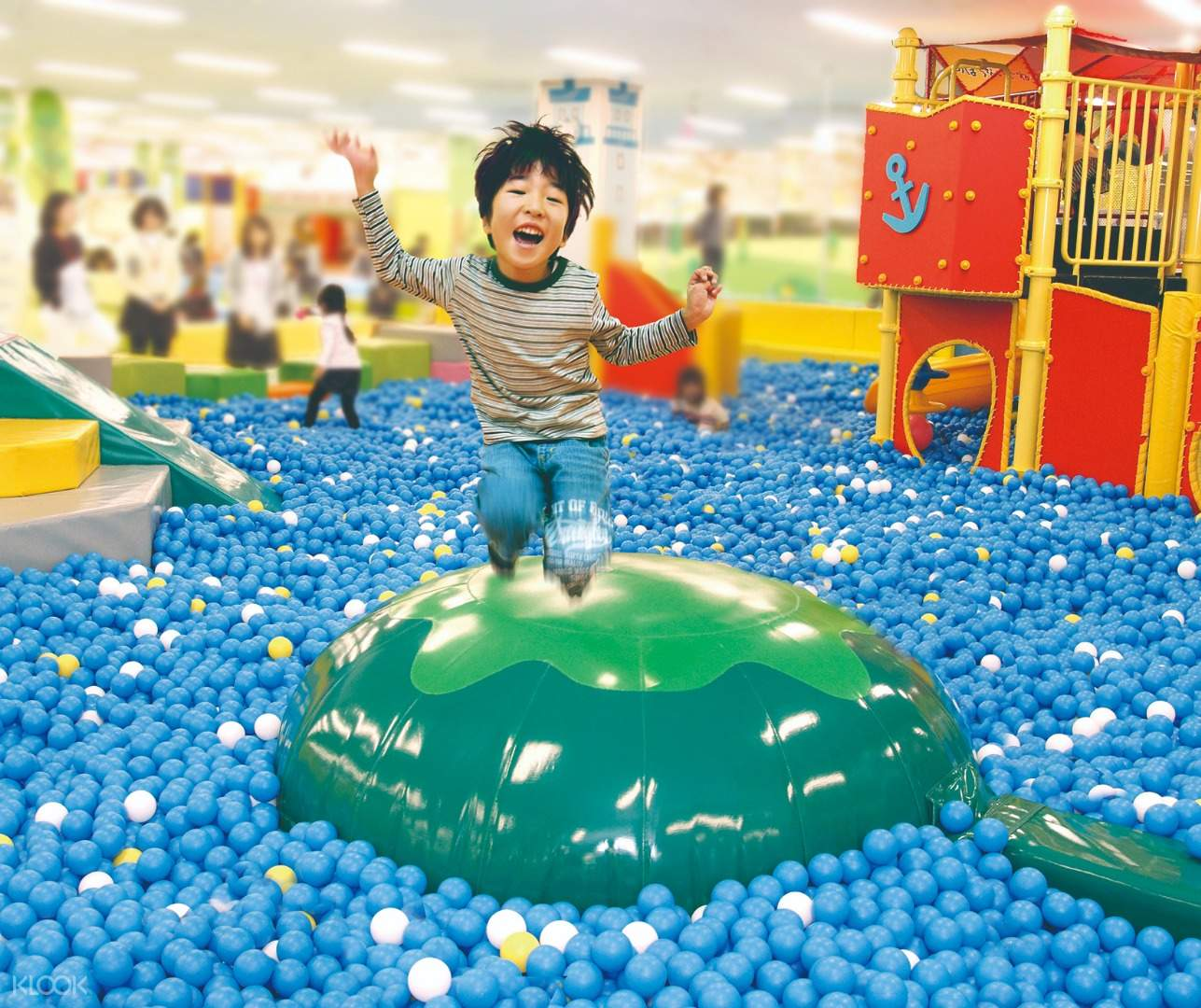 ball pool at kidzoona in Klang Valley