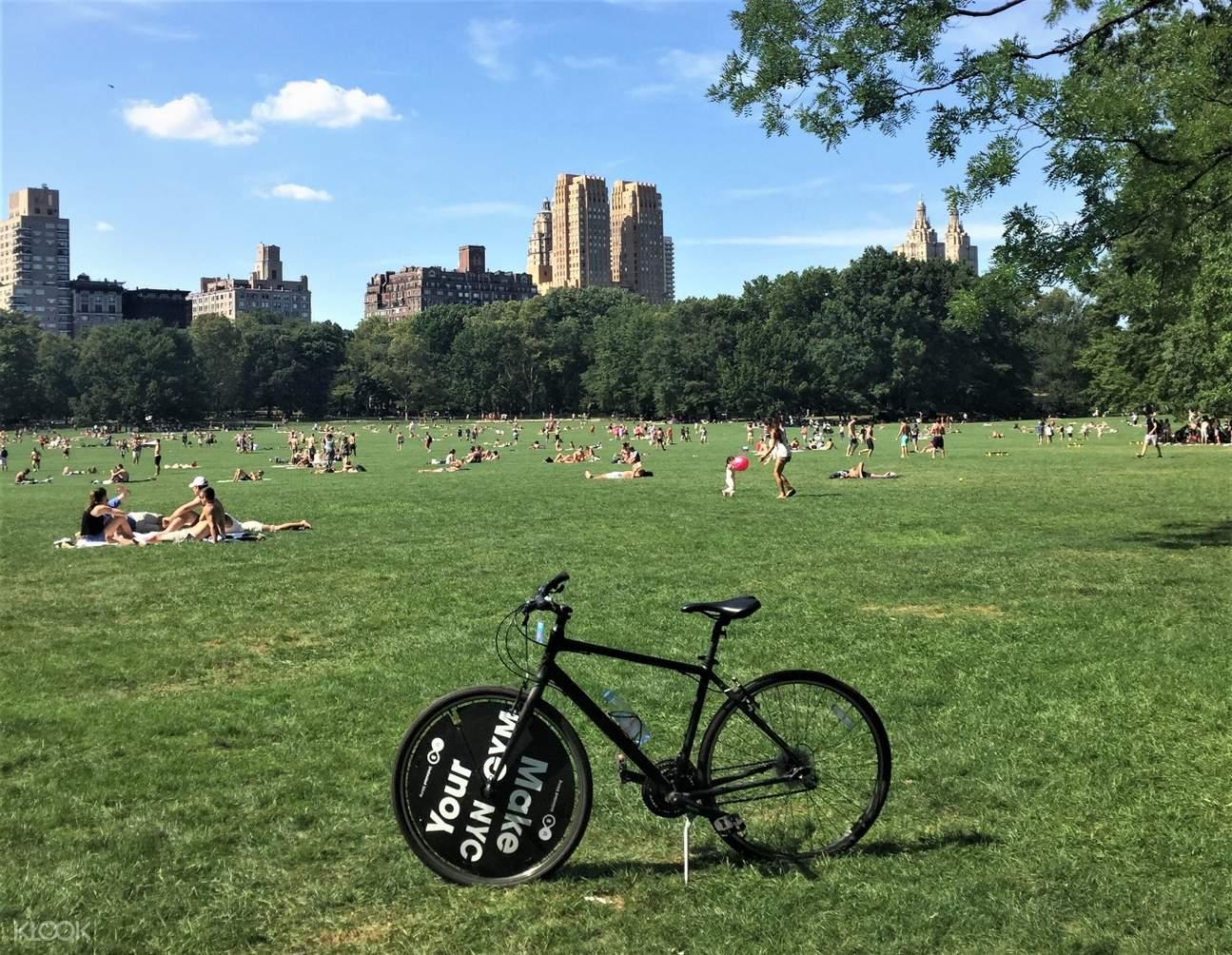 紐約中央公園單車租借