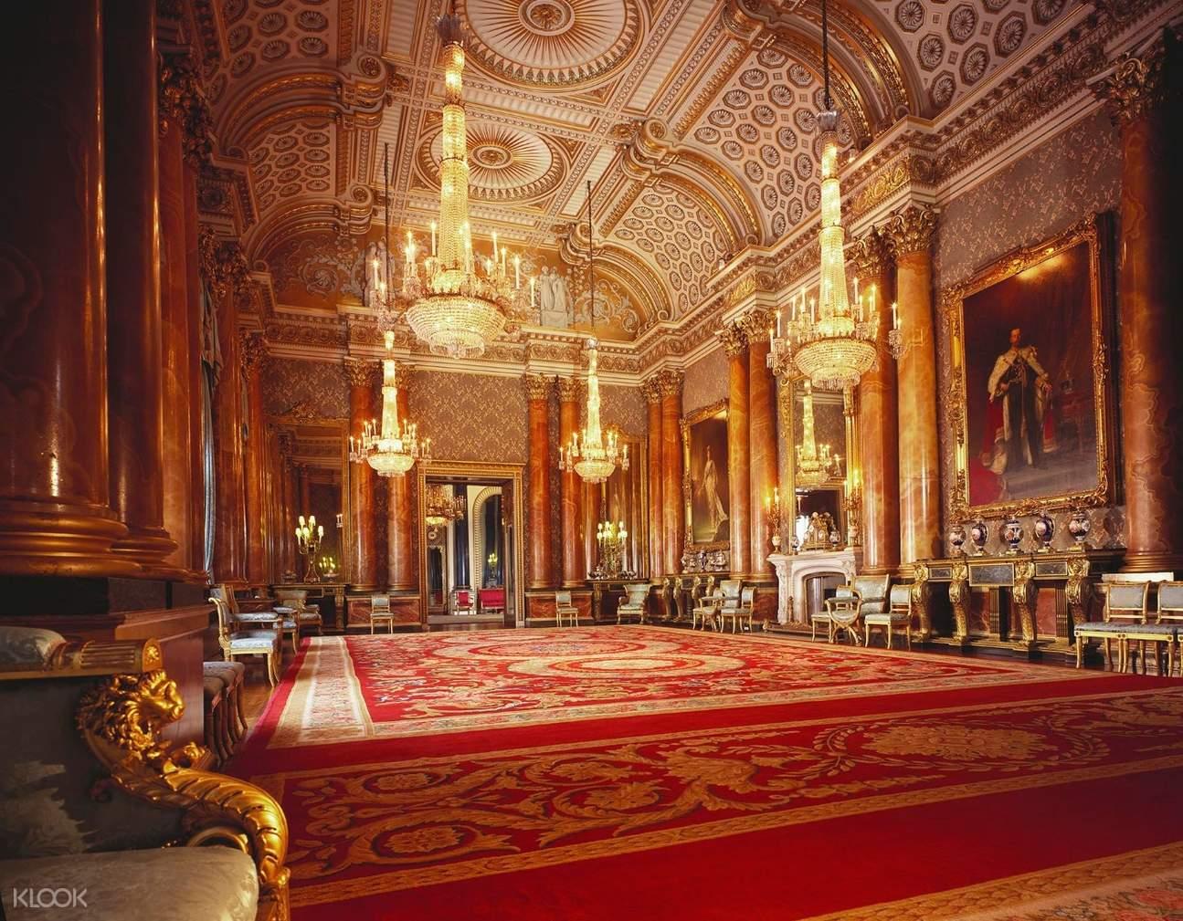 blue drawing room buckingham palace