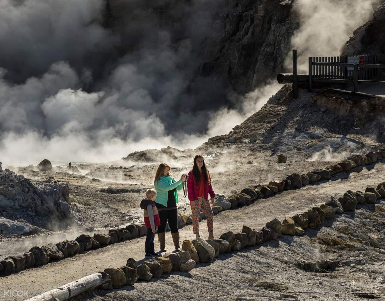 Hells Gate geothermal park