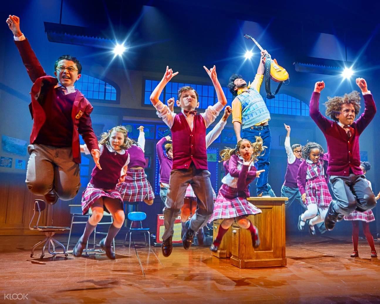 美國紐約「搖滾校園」紐約百老匯音樂劇門票