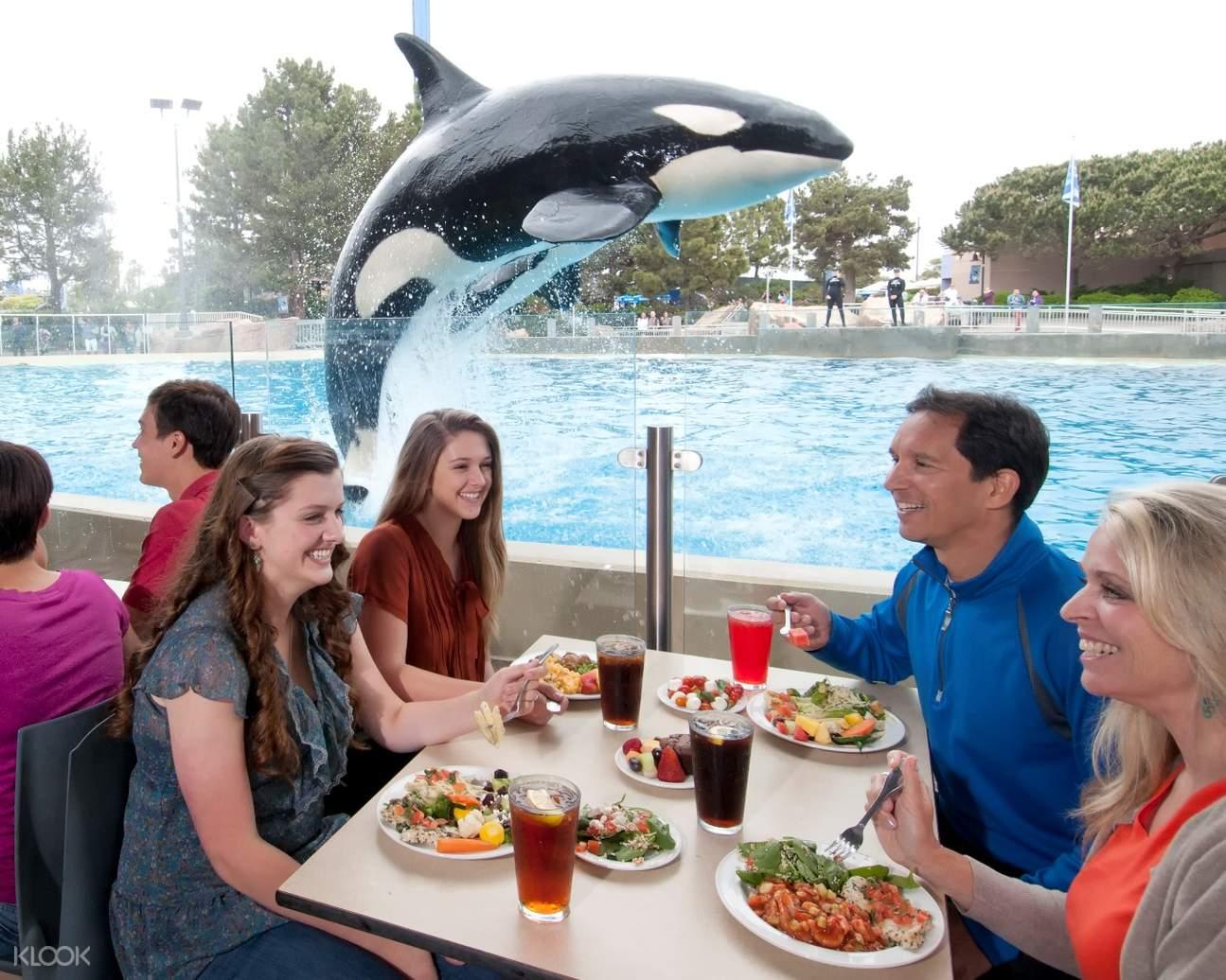 Sea World San Diego Lunch