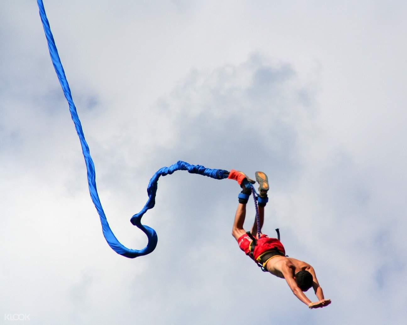 Pokhara bungee jump