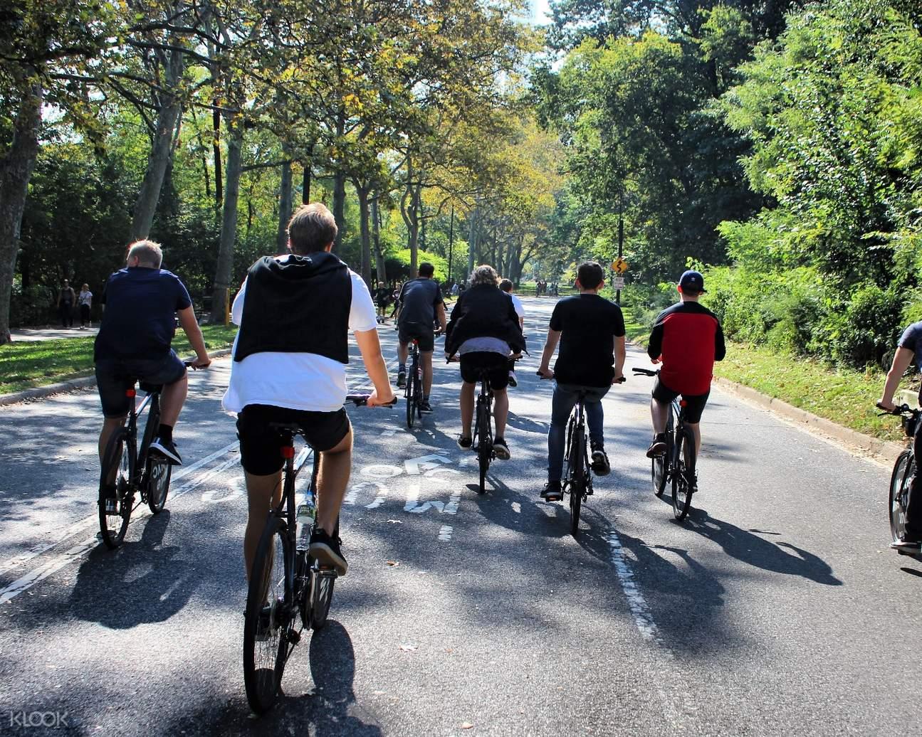 中央公园脚踏车租赁