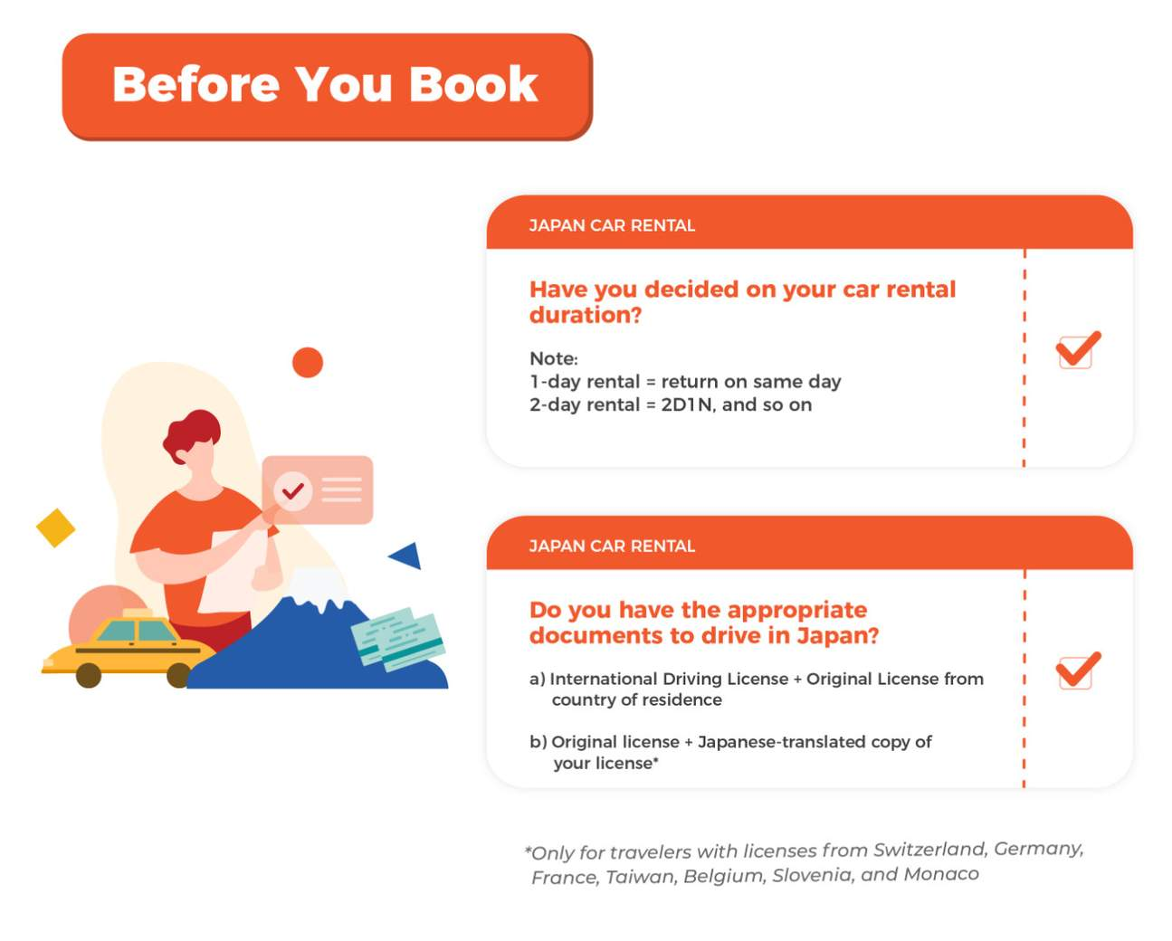 Before You Book