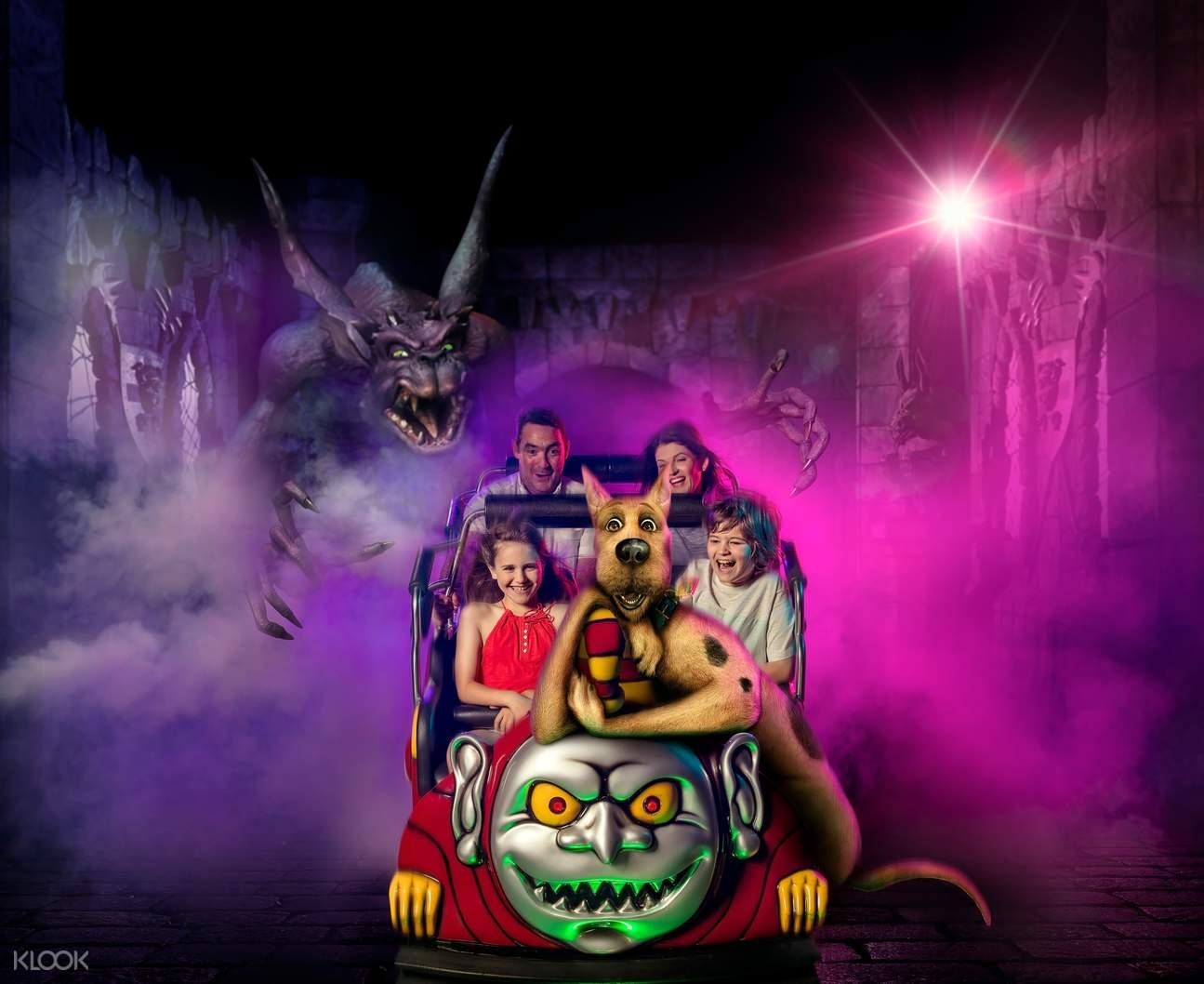 Scooby Doo Rollercoaster