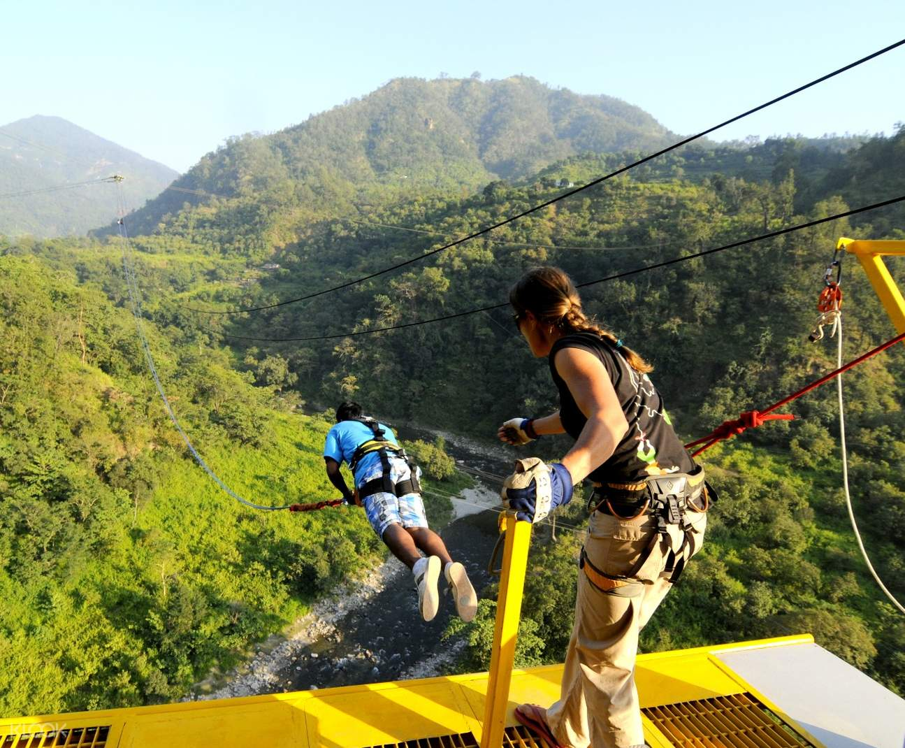 giant swing rishikesh