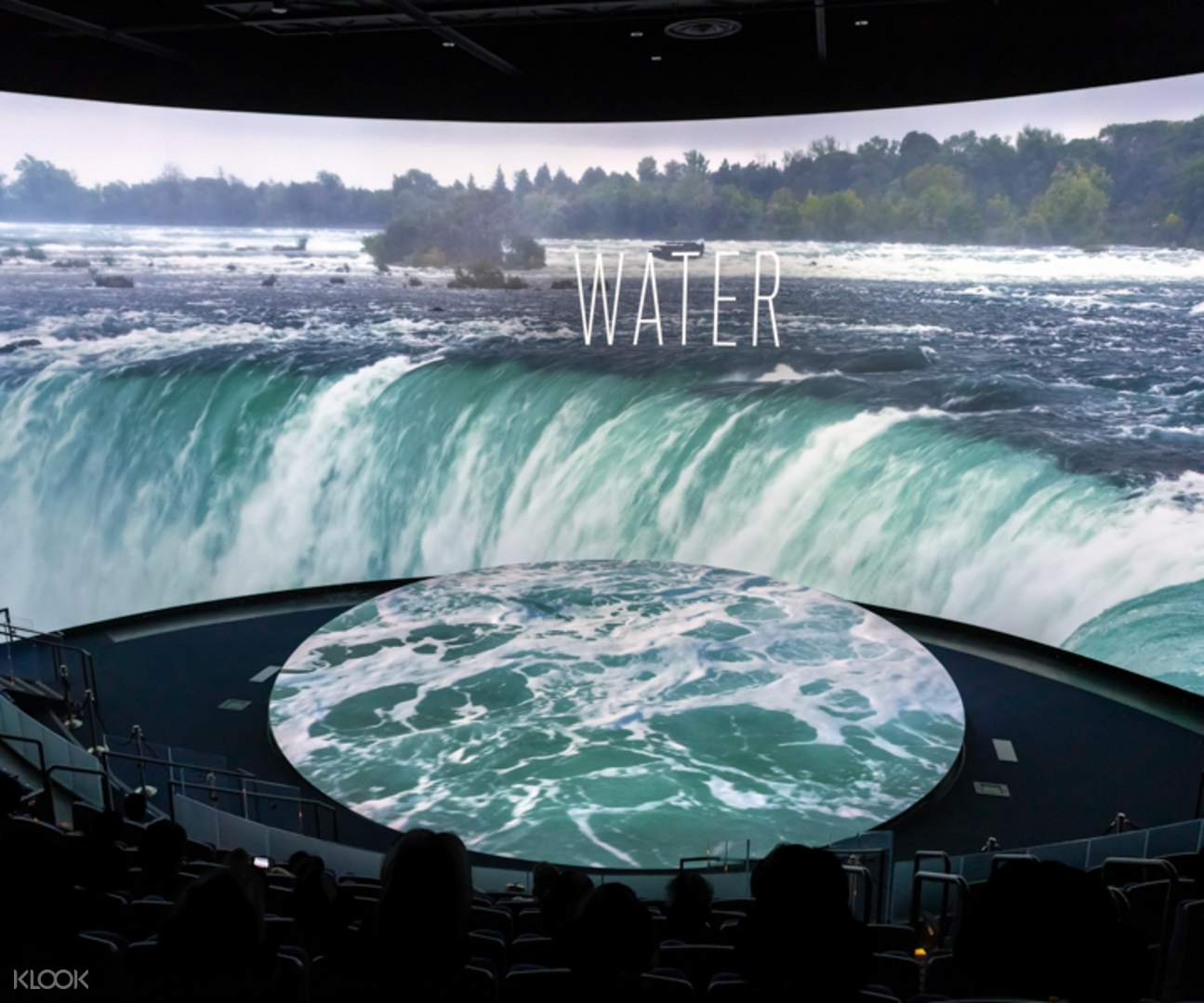 Visit the Pacific Visions Theater at the aquarium of the pacific