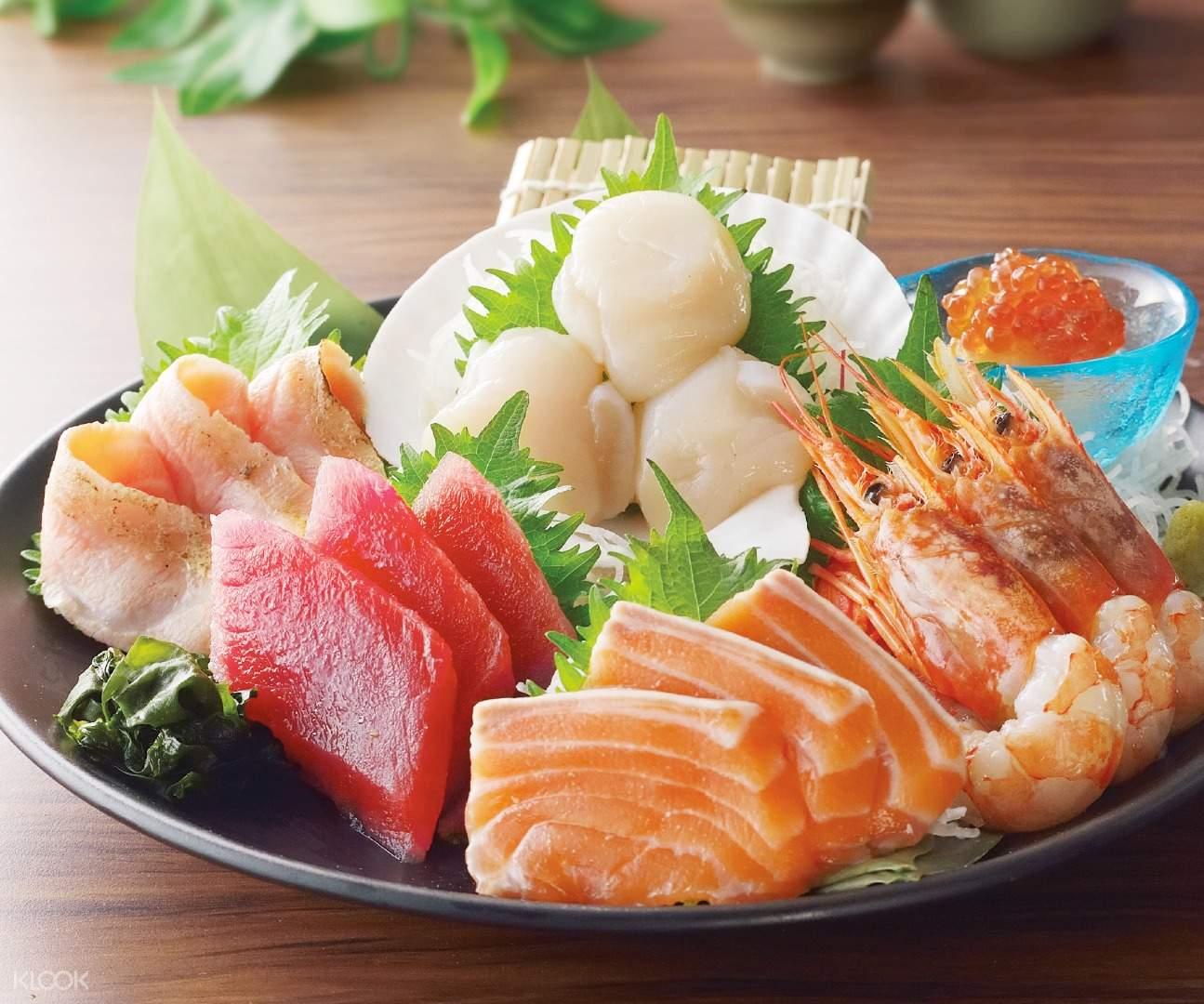 5 kinds Assorted Sashimi Watami Japanese Dining Causeway Bay Hong Kong
