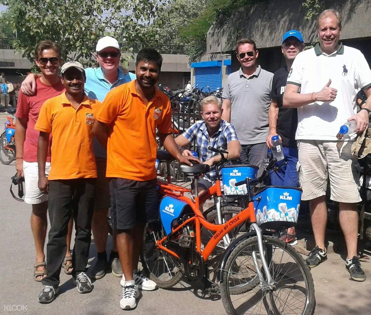 yamuna river cycling tour delhi