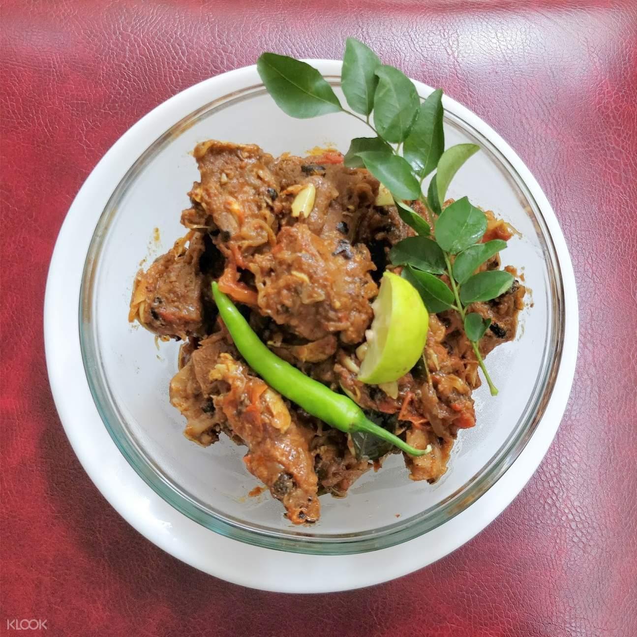 喀拉拉邦海岸私房美食体验