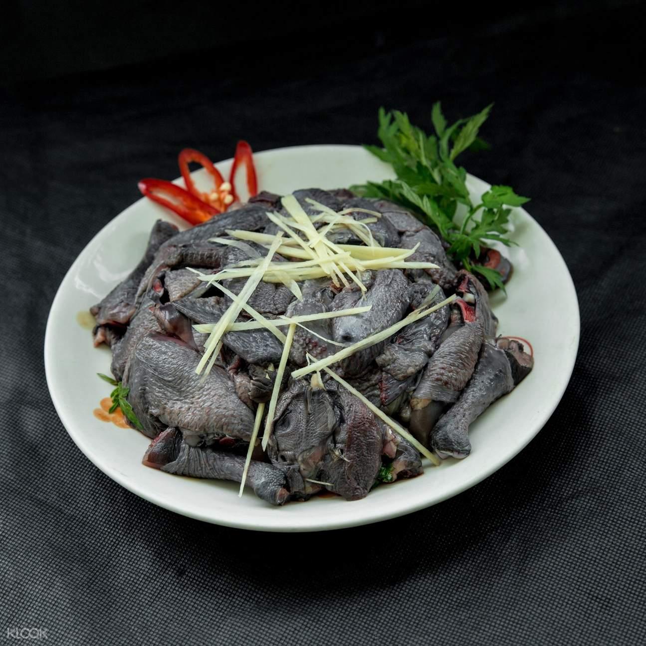 tay bac specialty - black chicken