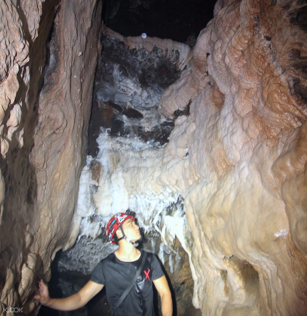 inside the cave of xscape tambun