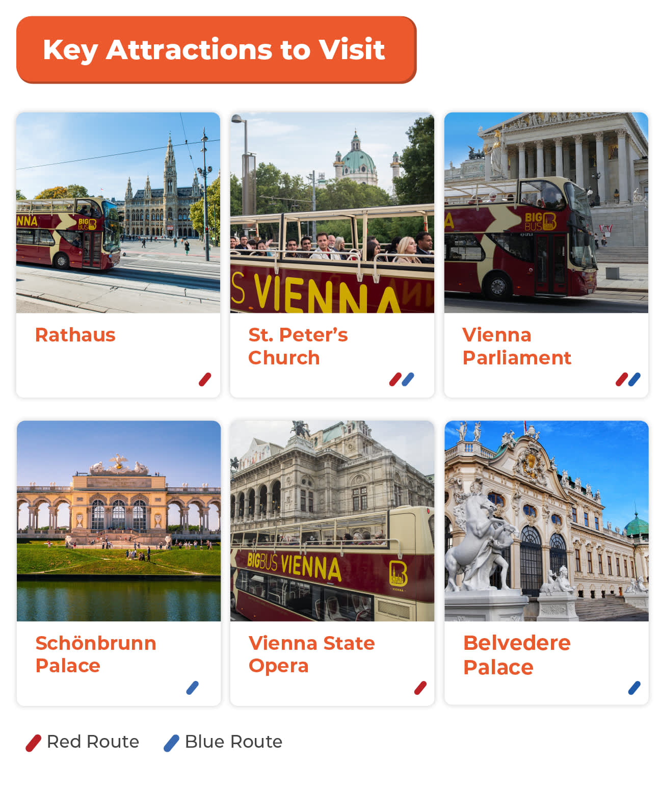vienna hop on hop off bus key attractions