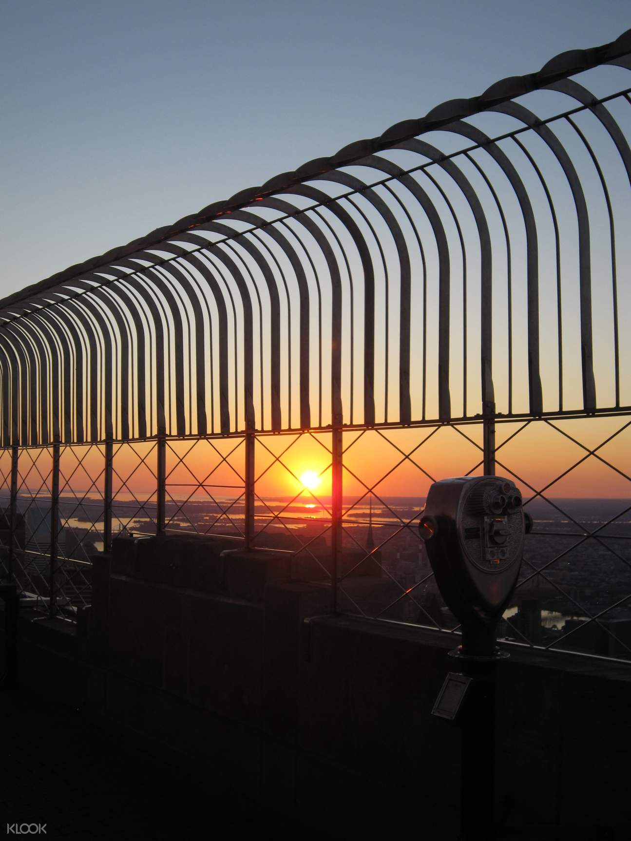 new York empire state building sunrise experience