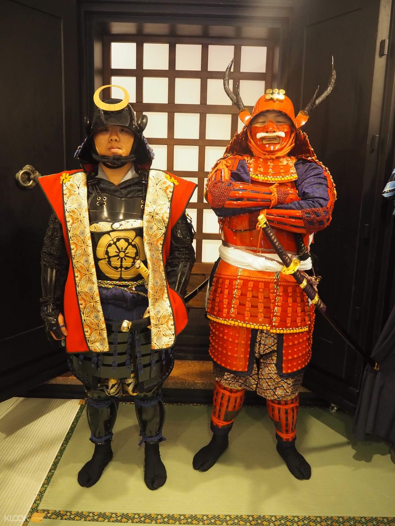东京 浅草武士甲胄体验