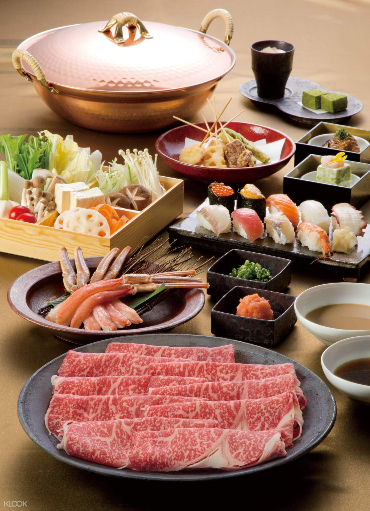东京 八山高级和牛涮涮锅