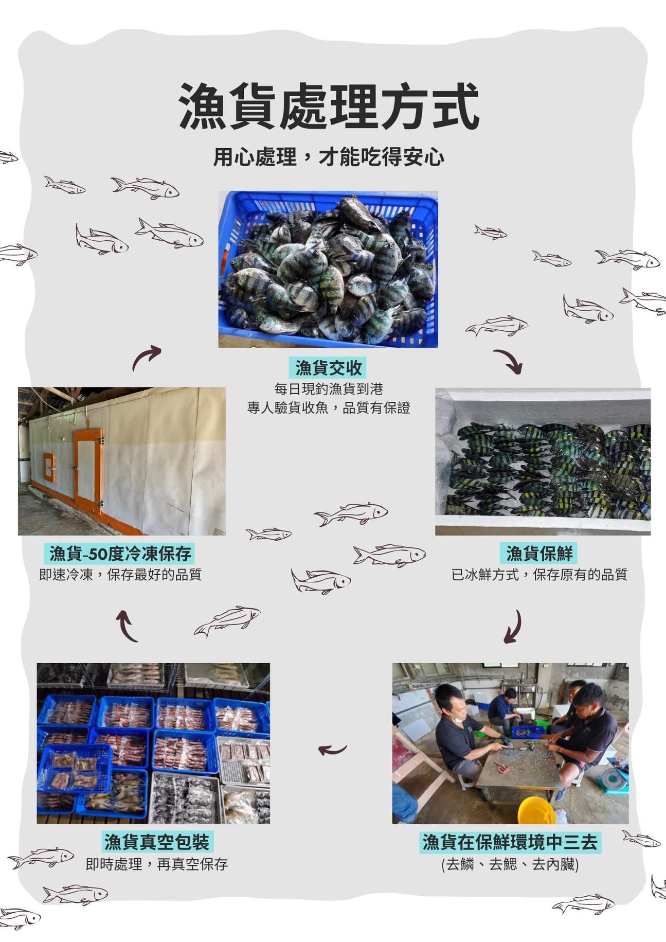 漁貨處理方式