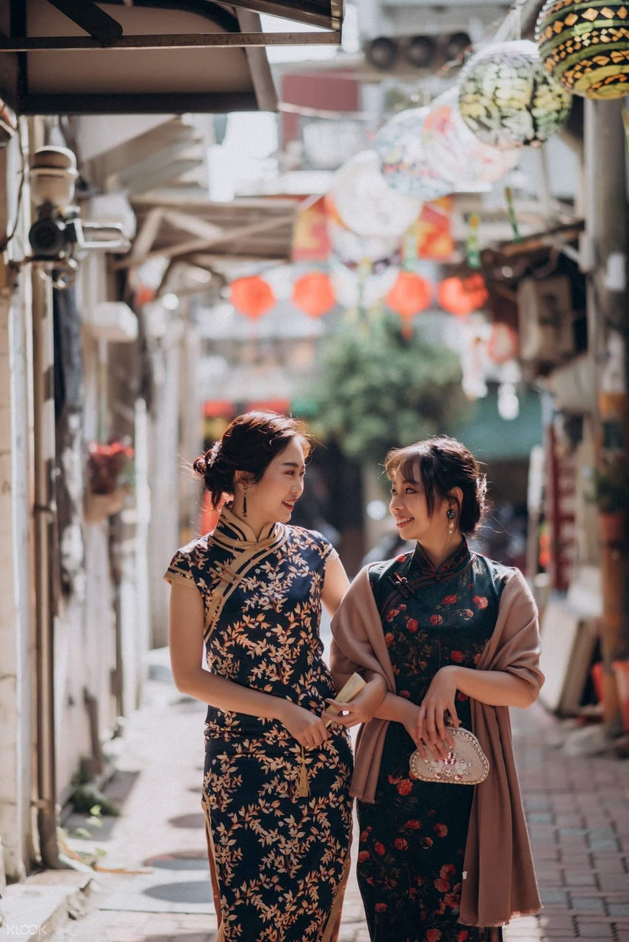 台南旗袍體驗