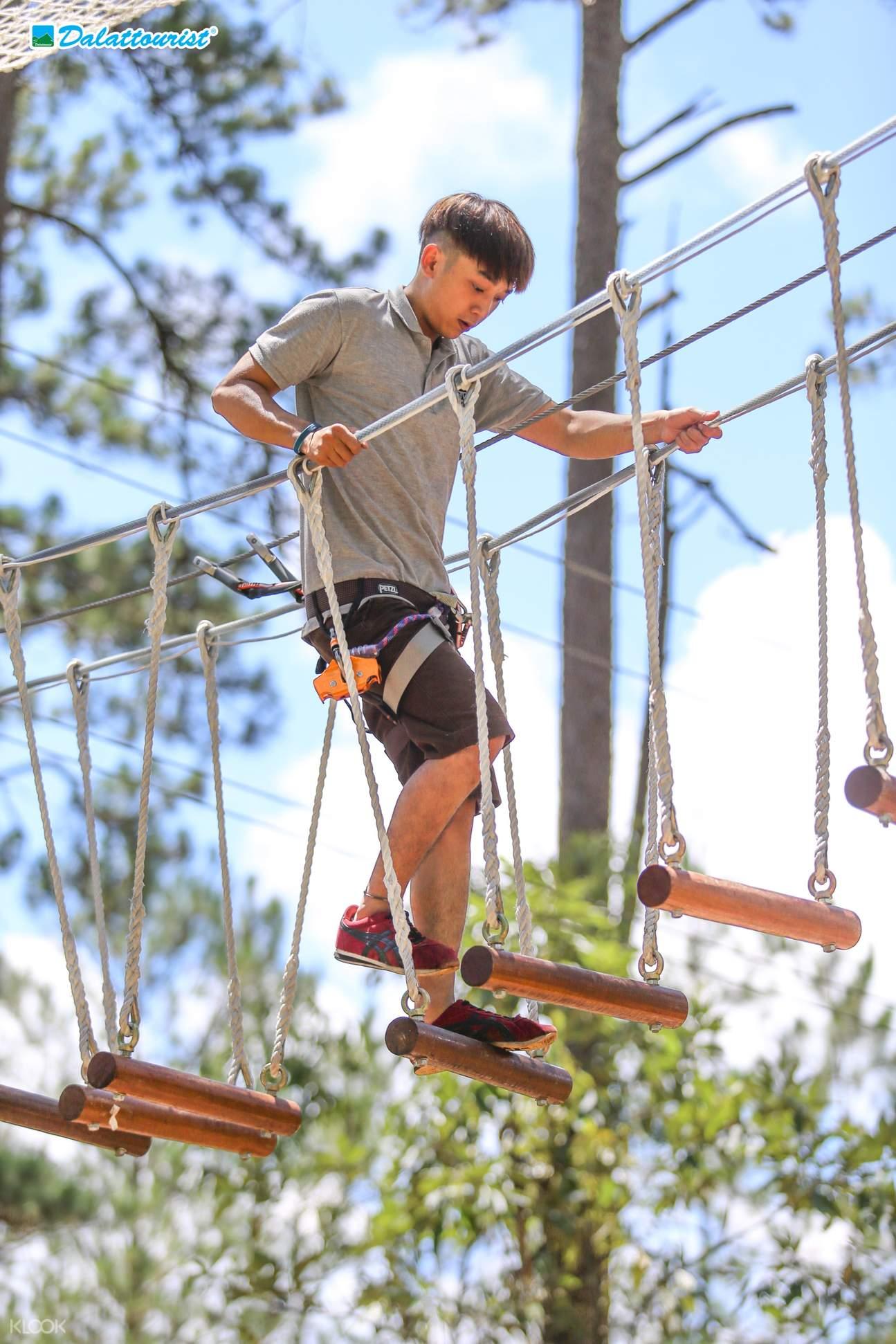 high rope đà lạt