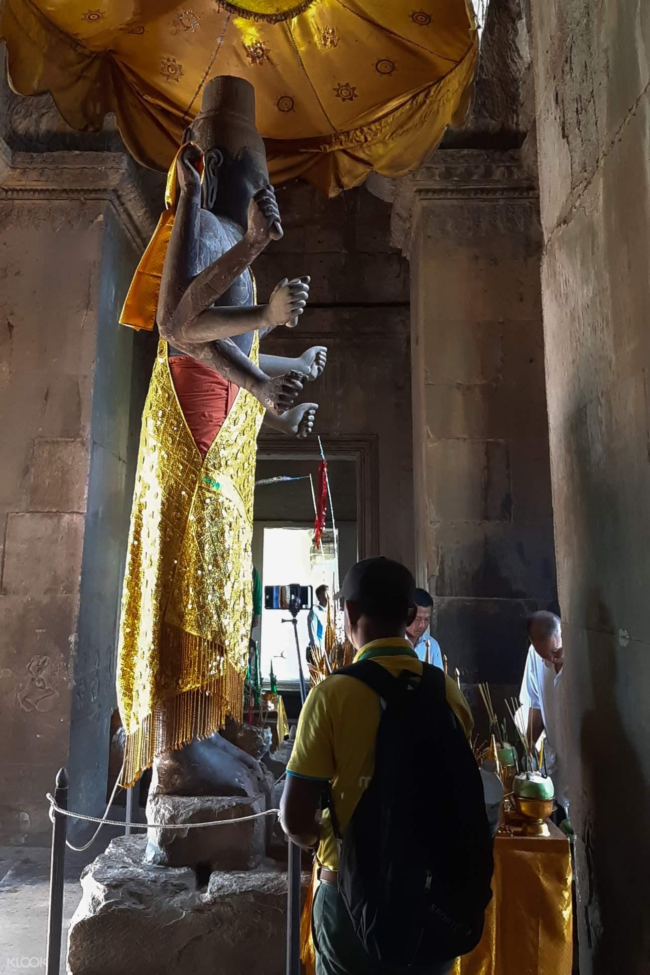 吳哥窟雕像