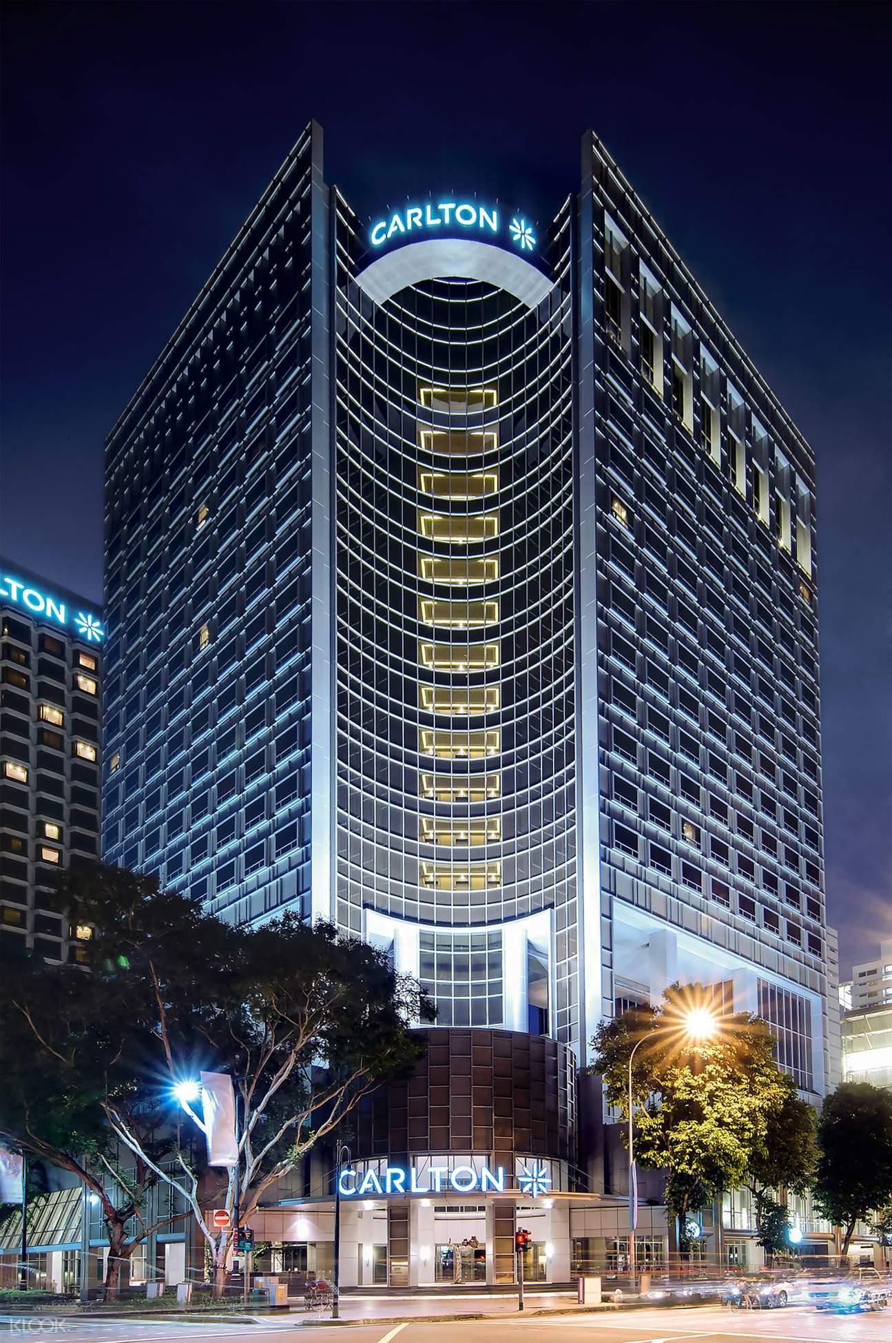 Carlton Hotel Facade