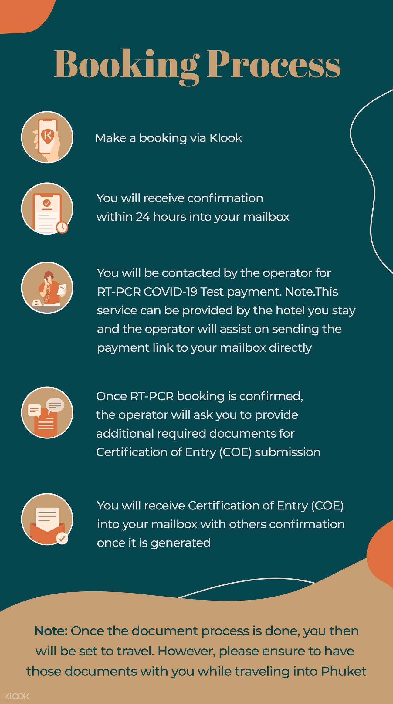 Amari Phuket Booking Process