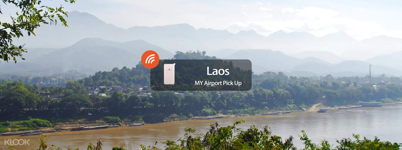 4G/3G WiFi (MY Airport Pick Up) for Laos
