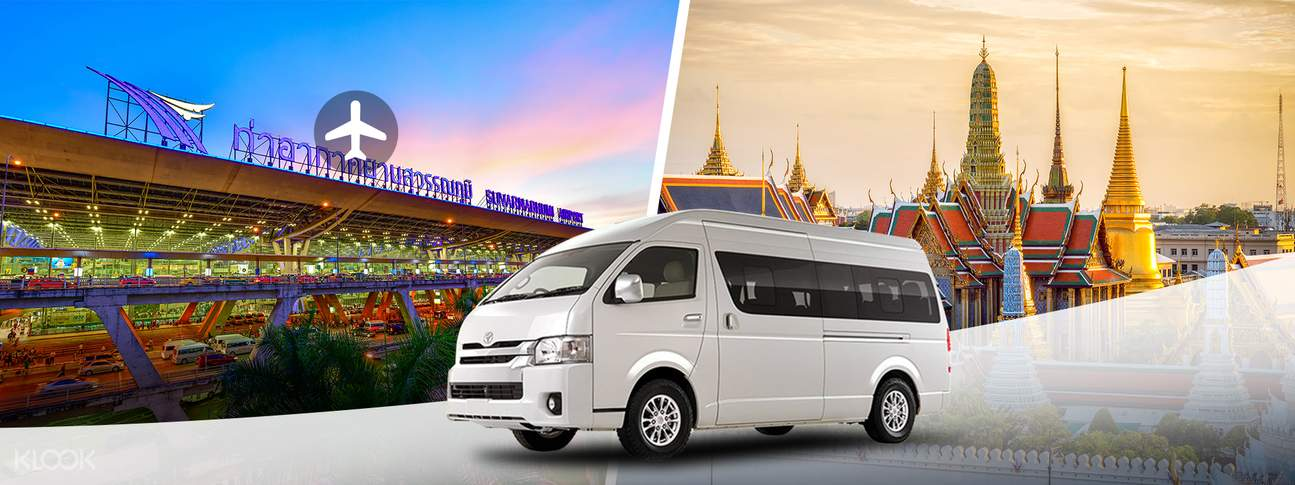 Shared Suvarnabhumi Airport Transfers (BKK) from Bangkok City