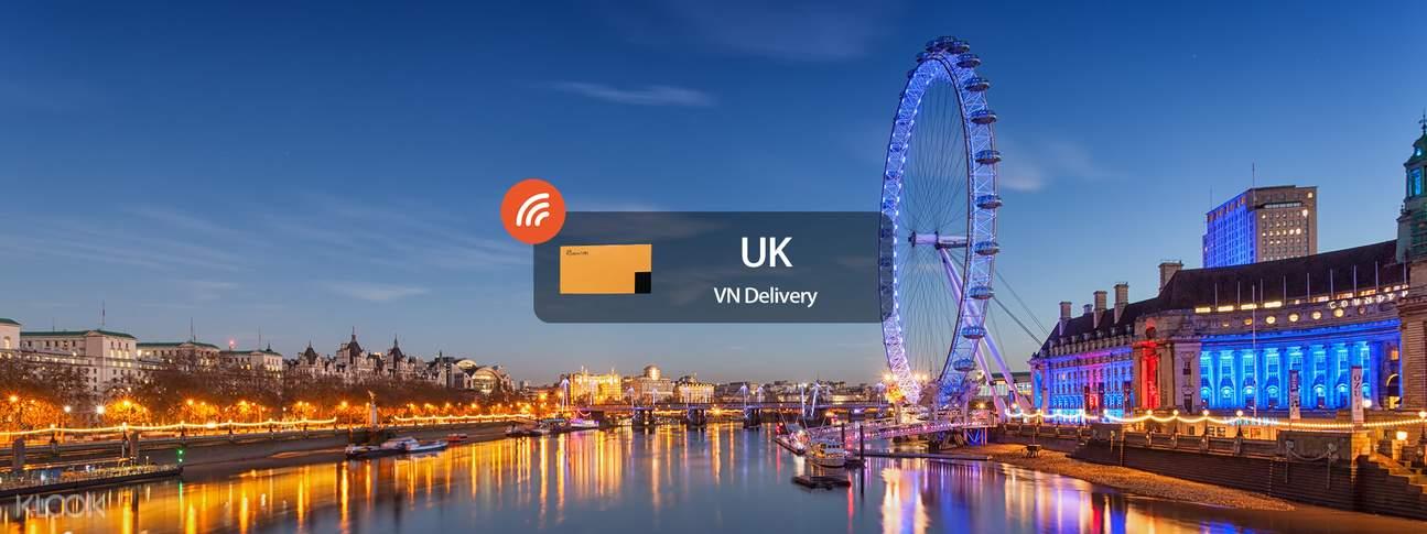 4g wifi rental vietnam delivery united kingdom