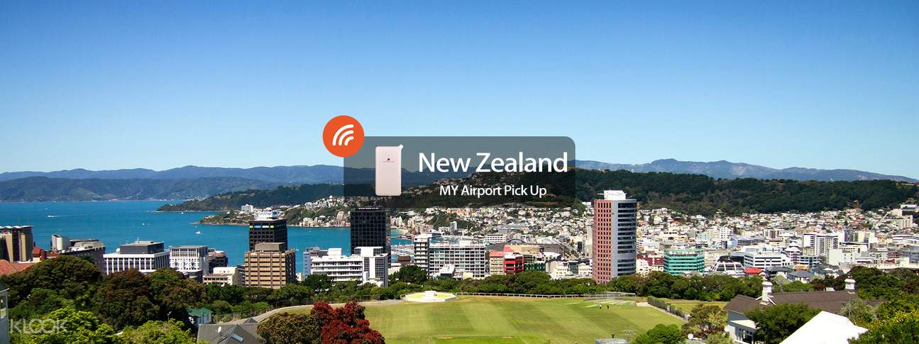 4G/3G WiFi (MY Airport Pick Up) for New Zealand