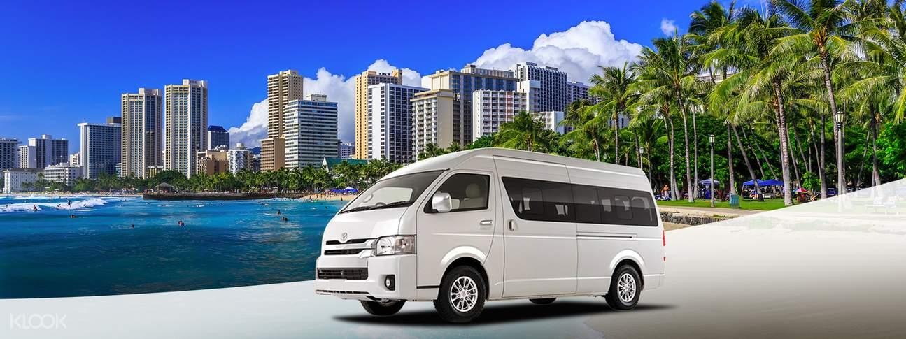 美国夏威夷欧胡岛私人包车游览中文司机
